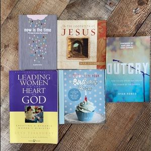 Bundle of Christian/inspirational books